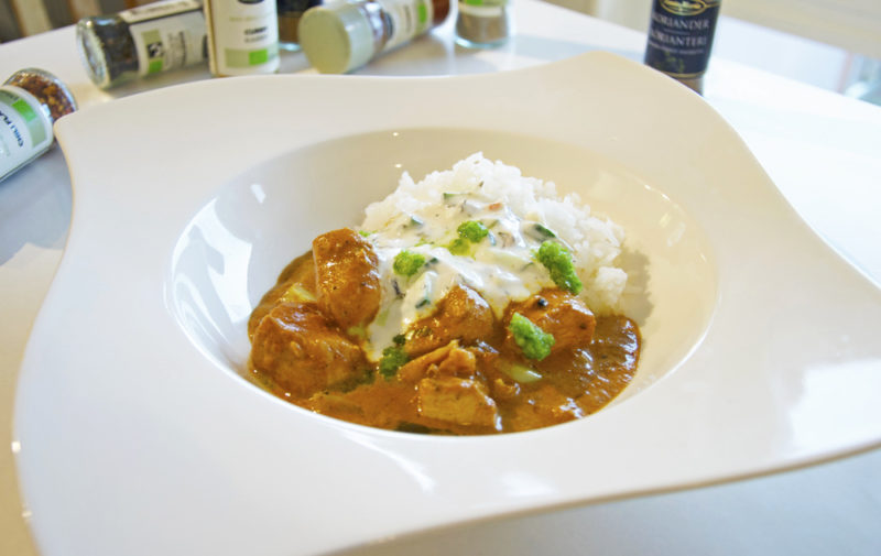 Indisk Curry Kyckling