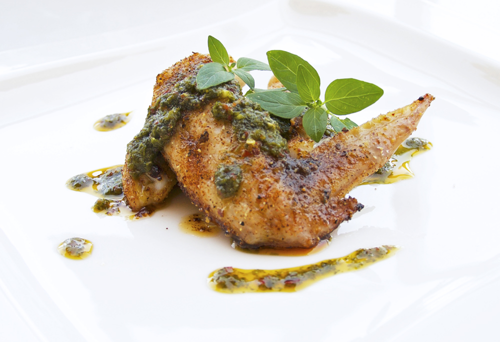 Kyckling med chimi churri